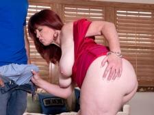 Heather's Booty Meets Unyielding Cock