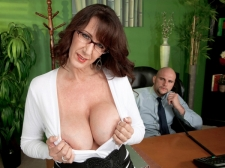 Fucking the huge-titted Mother I'D LIKE TO FUCK who's wearing glasses