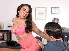 Gabriella Sky's handsome oral-stimulation skills